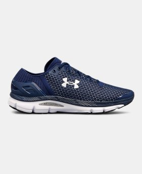 blue under armour shoes