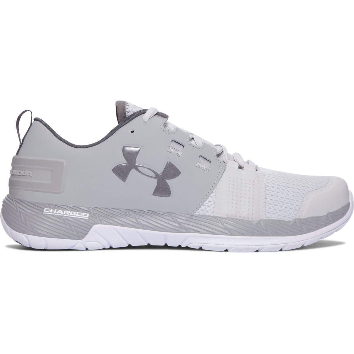 grey under armour shoes